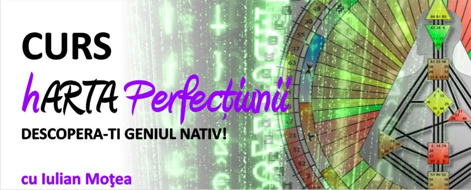 hARTA Perfecțiunii – Descoperă-ți Geniul Nativ